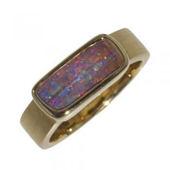 Ring Gold Boulderopal